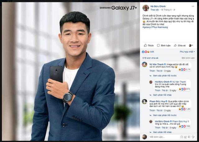 """Đức Chinh của U23 Việt Nam tiếp tục đốn tim"""" fan nữ bằng loạt ảnh tự sướng nhăng nhít thế này đây!-7"""