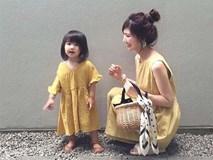 Chỉ chụp ảnh đôi cùng con gái, nữ blogger người Nhật nổi tiếng khắp MXH