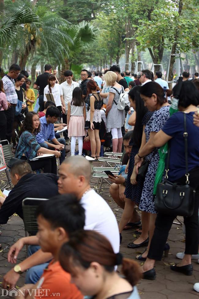 Các khu vui chơi ở Thủ đô đông nghịt người dịp nghỉ lễ-8