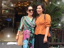 Khánh Thi đứng cạnh cô bạn thân 25 năm 'Nguyệt thảo mai', ai xinh đẹp hơn?