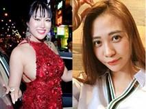 SAO MAKE-UP OVER: Đàm Thu Trang mặt phờ phạc trái ngược với Phi Thanh Vân dầy cộp phấn