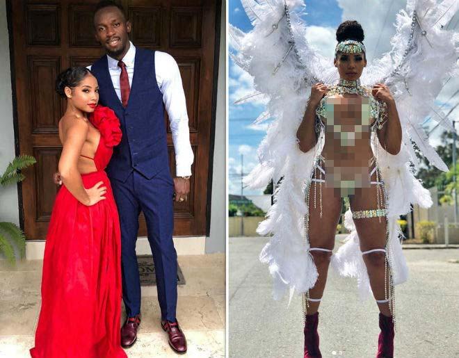 Bạn gái Usain Bolt tuyệt đẹp: Diện đồ thiên thần lả lơi đốt mắt-1