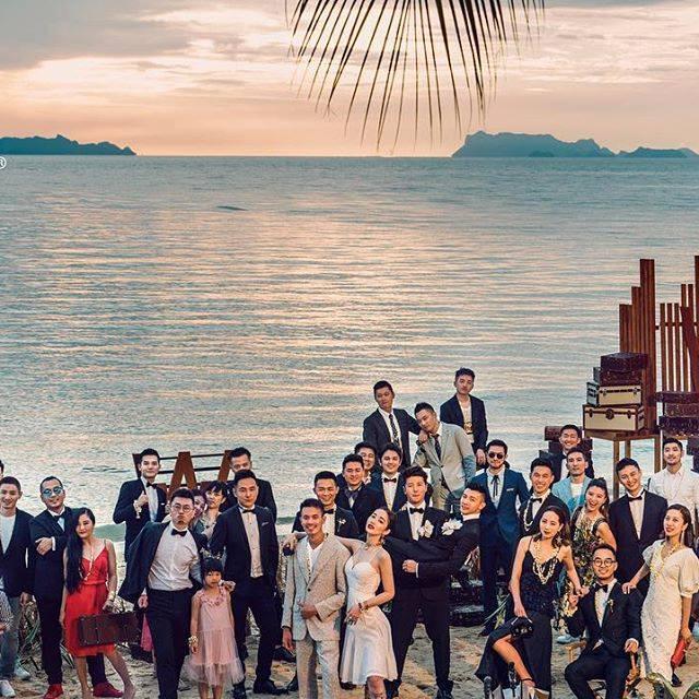 Cặp trai đẹp tung ảnh đám cưới thần sầu hơn cả phim khiến dân mạng lịm tim-9