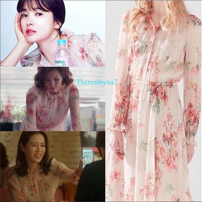 Cơn sốt của chiếc váy hoa quốc dân: Đến cả Song Hye Kyo cũng chọn mặc để đóng quảng cáo đây này!-4