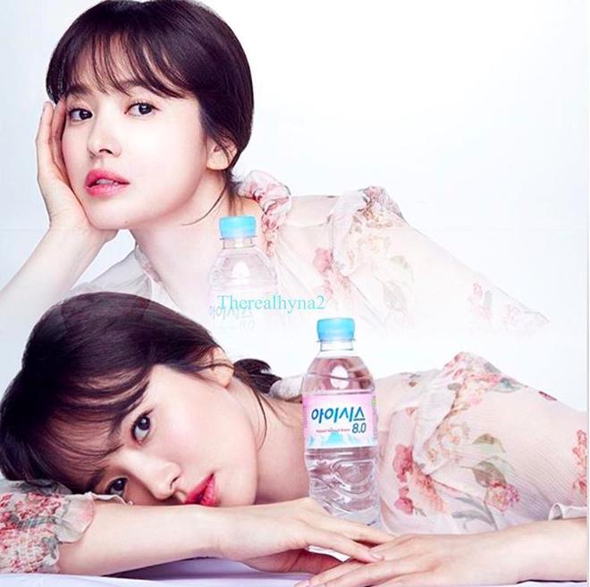 Cơn sốt của chiếc váy hoa quốc dân: Đến cả Song Hye Kyo cũng chọn mặc để đóng quảng cáo đây này!-2