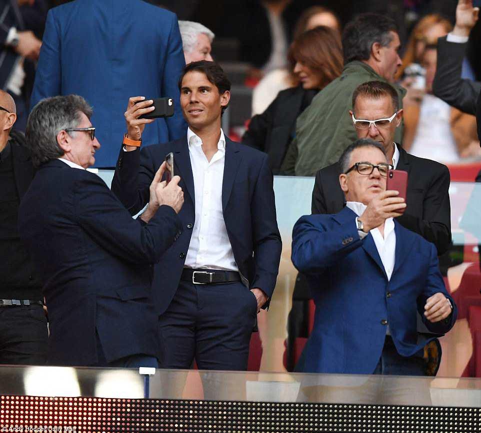 Cổ vũ Atletico, Rafael Nadal bị fan Real gọi là rắn độc-2