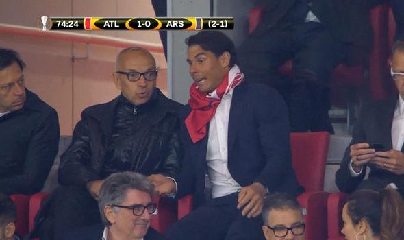 Cổ vũ Atletico, Rafael Nadal bị fan Real gọi là rắn độc-3
