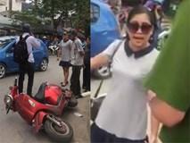 Sốc: Nữ tài xế tuyên bố 'mạng người không quan trọng' rồi hung hăng bỏ đi