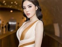 Kỳ Duyên diện váy hở sâu, khoe trọn vòng một ngồn ngộn với trang sức 1,2 tỷ hậu công khai thẩm mỹ