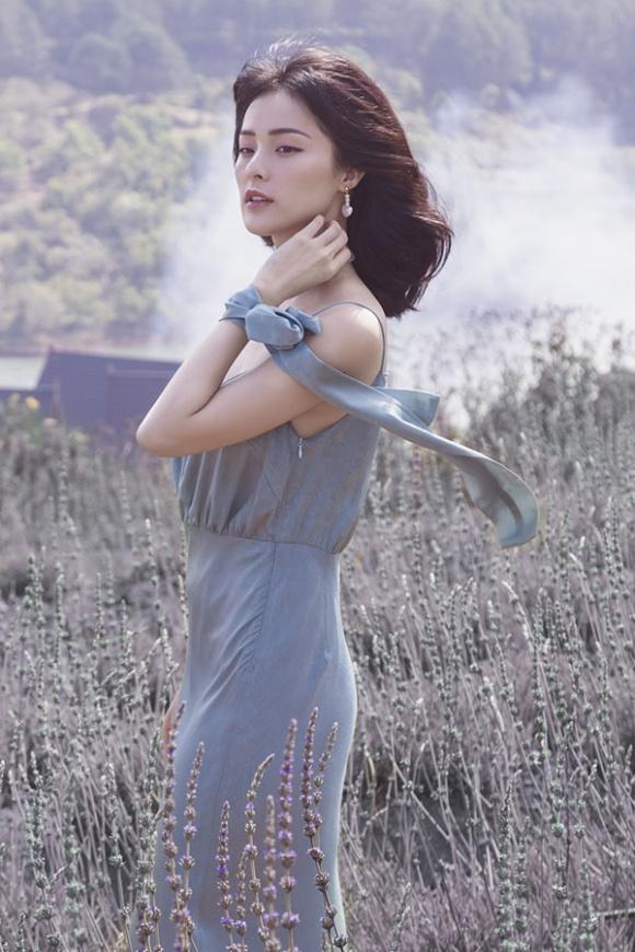 Hạ Vi đẹp sương khói trong mùa hoa oải hương-6