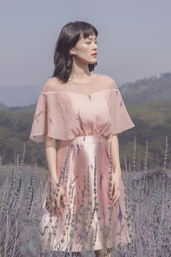 Hạ Vi đẹp sương khói trong mùa hoa oải hương-9