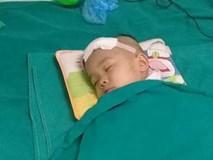 Bé gái hơn 3 tuổi đau đớn trải qua 2 lần phẫu thuật trị xạ u não