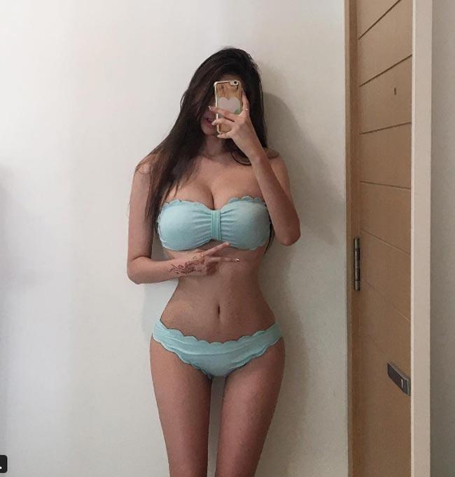 Chụp áo tắm, nội y qua gương, người đẹp châu Á gợi cảm gấp đôi-14