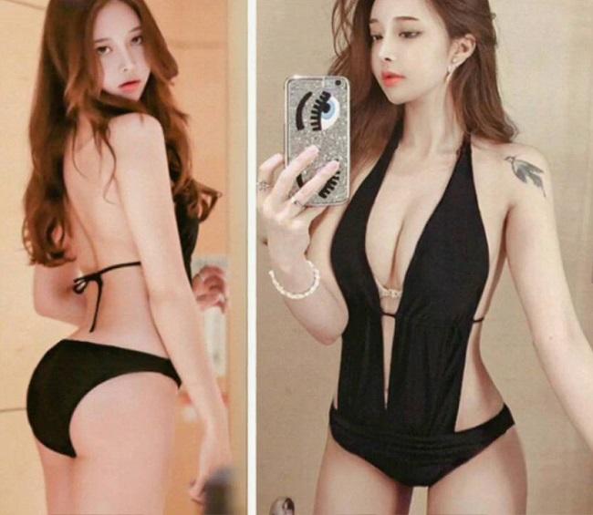 Chụp áo tắm, nội y qua gương, người đẹp châu Á gợi cảm gấp đôi-8