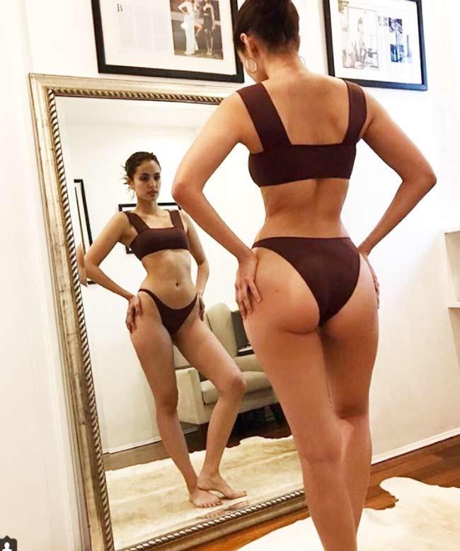 Chụp áo tắm, nội y qua gương, người đẹp châu Á gợi cảm gấp đôi-11