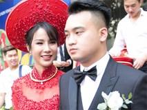 Sau lễ vái gia tiên, Diệp Lâm Anh rạng rỡ lên xe hoa về nhà chồng