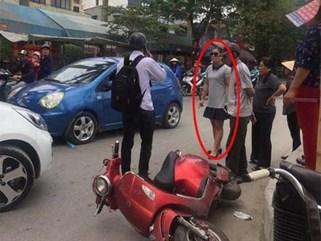 Nữ tài xế nói 'con người không quan trọng' sau va chạm