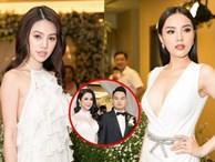 'Hội bạn thân nhà giàu' diện tông trắng dự lễ cưới của Diệp Lâm Anh