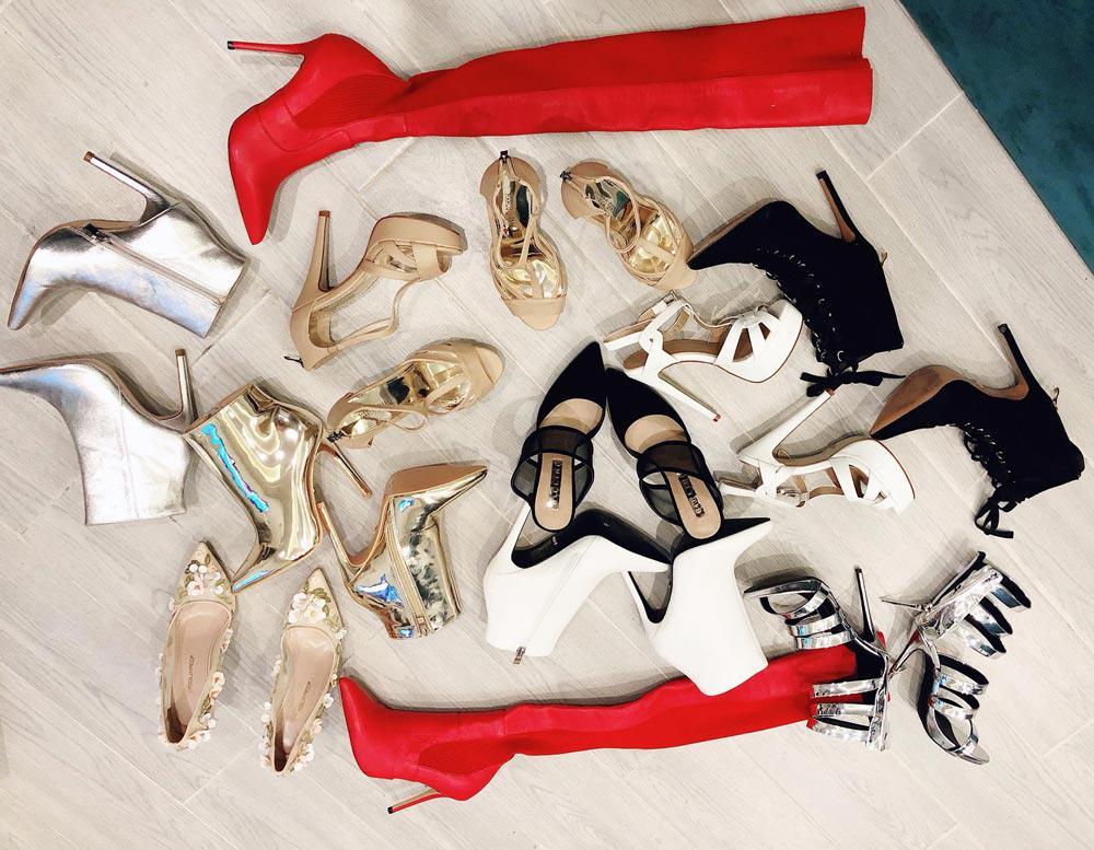 Bảo Thy mua cùng lúc 11 đôi giày đủ chủng loại khiến ai cũng phải ghen tỵ!-1