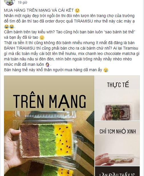 Người mua ốp điện thoại, người mua bánh Tiramisu cùng chung một cái kết đắng-1