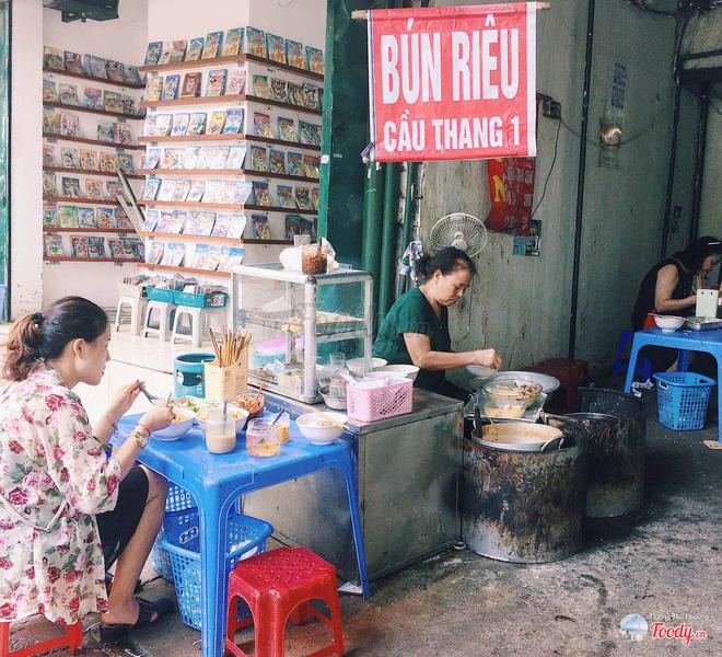 3 quán bún riêu truyền thống cực ngon để khởi động mùa hè ở Hà Nội-6
