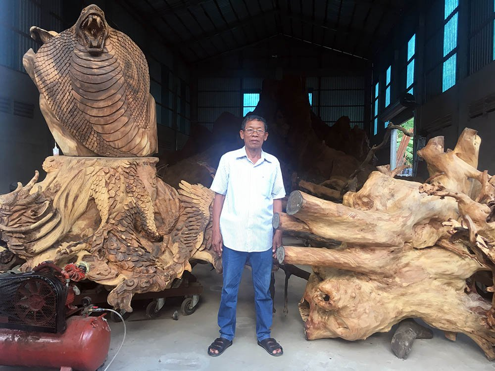 Miễn cưỡng mua gốc cây 35 triệu, nào ngờ được báu vật 35 tỷ-2