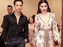 Hồ Ngọc Hà diện áo ngủ đính kết quyến rũ sánh đôi bên Kim Lý
