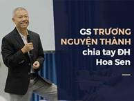 8 phát ngôn quanh việc 'giáo sư quần đùi' Trương Nguyện Thành rời ĐH Hoa Sen về Mỹ