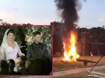 Máy bay đón dâu rơi, phát nổ ngay tại đám cưới khiến quan khách hoảng loạn