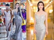 Cuộc chạm trán váy dạ hội mới nhất thuộc về 2 Hoa hậu đình đám, Mỹ Linh và Hương Giang
