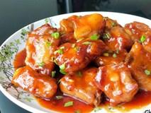 Sườn xào chua ngọt ngon cơm, ăn chẳng bao giờ chán