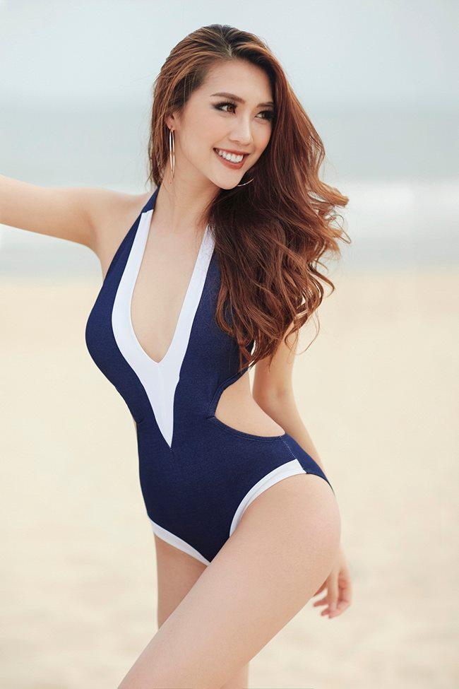 4 người đẹp Việt sở hữu vòng eo 54 - 56 cm thần thánh-3