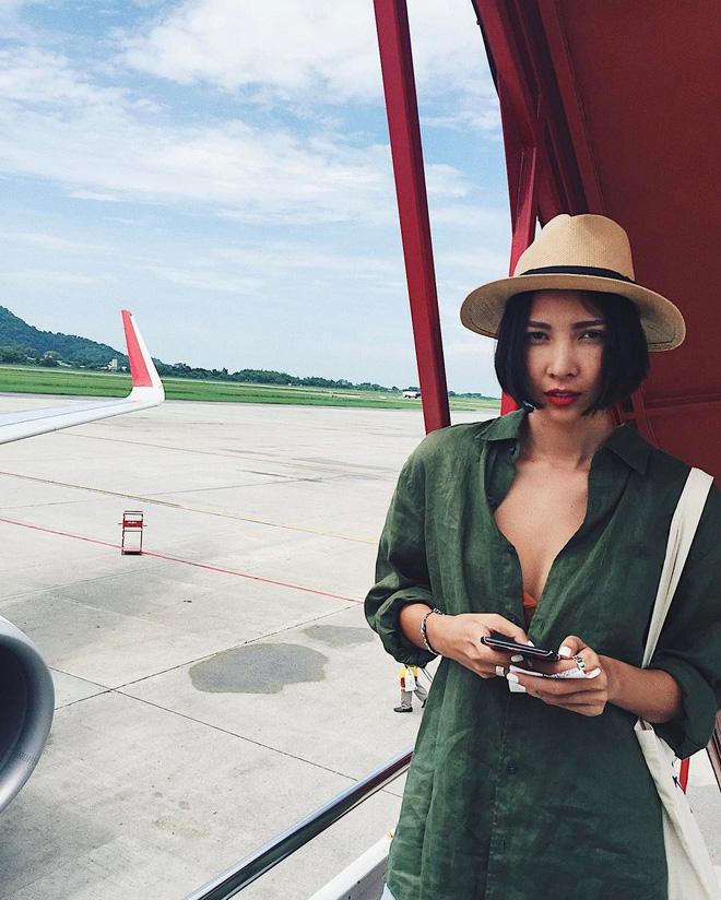 Học sao Việt cách chọn và kết hợp mũ cói sao cho thật duyên dáng khi diện cùng trang phục hè-15