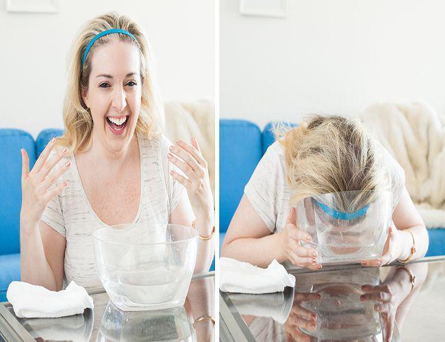 Học theo mẹo ngâm mặt bằng nước có gas, cô gái nhận cái kết không thể bất ngờ hơn!-8