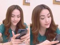 Sau lần livestream 'bão táp', Minh Hằng xinh đẹp hơn nhưng vẫn không thể giấu nổi chiếc cằm dài khác lạ
