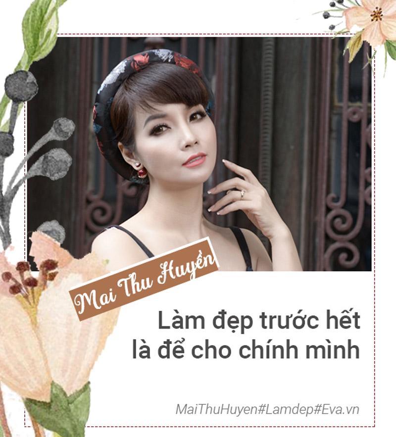 Bà mẹ 2 con Mai Thu Huyền lần đầu tiết lộ bí quyết... trẻ mãi không già-9