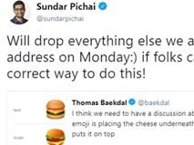 CEO Google khai mạc sự kiện bằng cách... khoe công ty biết làm burger rất chuẩn