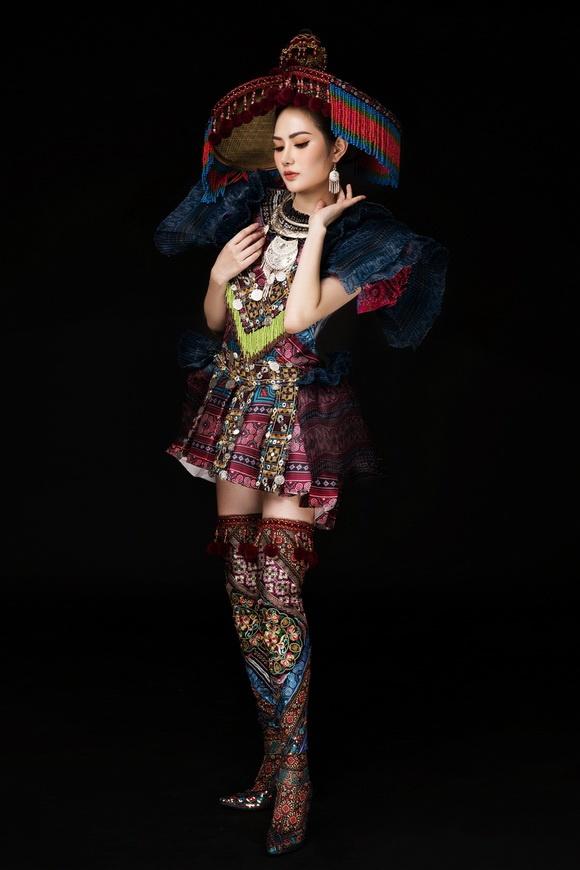 Diệu Linh chọn trang phục H'Mông thể hiện tại Nữ hoàng Du lịch Quốc tế 2018-8