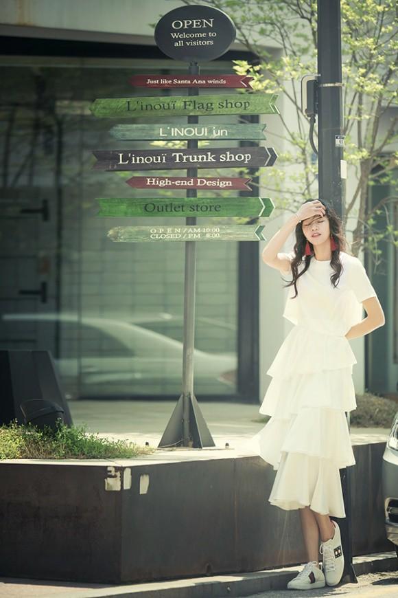 Á hậu kiêm BTV cao 1m8 của VTV tung bộ ảnh đẹp như mơ ở Hàn Quốc-3