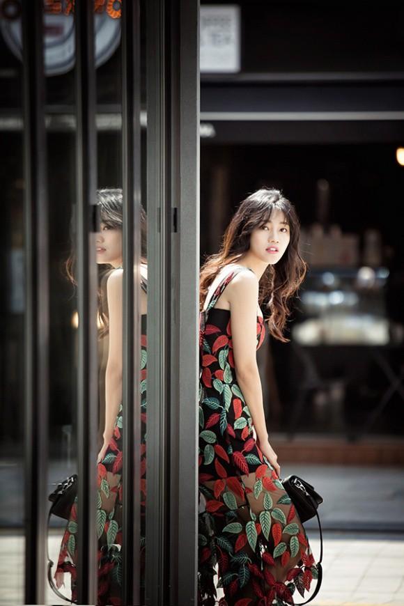 Á hậu kiêm BTV cao 1m8 của VTV tung bộ ảnh đẹp như mơ ở Hàn Quốc-5
