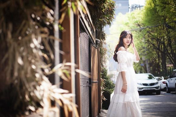 Á hậu kiêm BTV cao 1m8 của VTV tung bộ ảnh đẹp như mơ ở Hàn Quốc-6