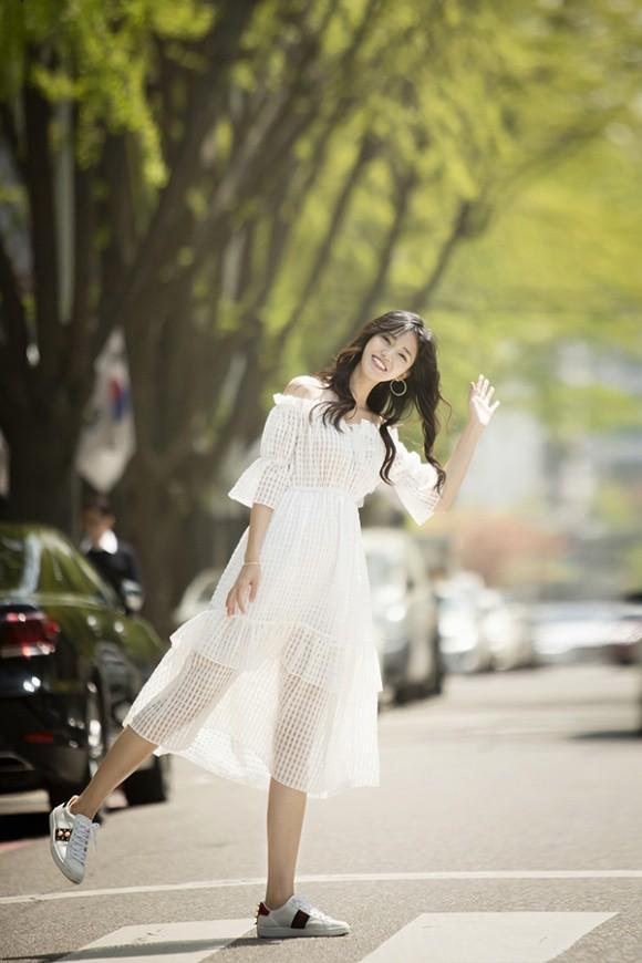 Á hậu kiêm BTV cao 1m8 của VTV tung bộ ảnh đẹp như mơ ở Hàn Quốc-7
