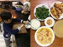 Chuyện người mẹ ung thư mỗi ngày âm thầm dạy con trai 4 tuổi tự nấu ăn suốt 3 năm