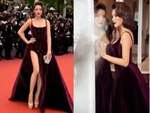 Lý Nhã Kỳ thiêu đốt mọi ánh nhìn khi diện váy xẻ táo bạo tại LHP Cannes