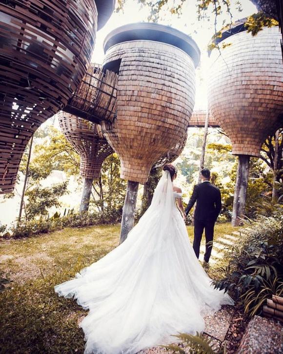 Ngắm bộ ảnh cưới đậm chất ngôn tình của Diệp Lâm Anh và chồng thiếu gia-6