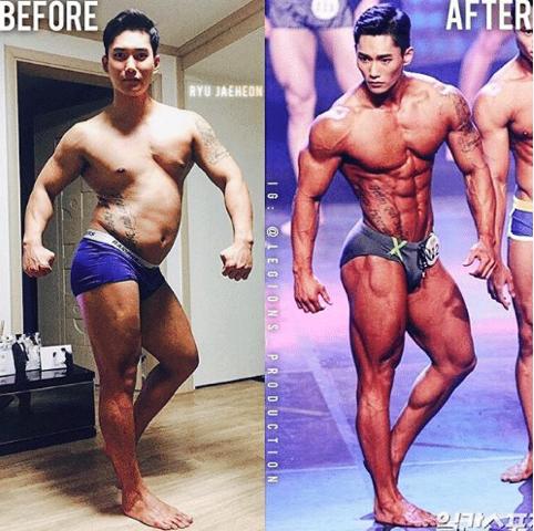 Muốn có động lực tập gym, hãy nhìn sự lột xác của soái ca Hàn Quốc này-3