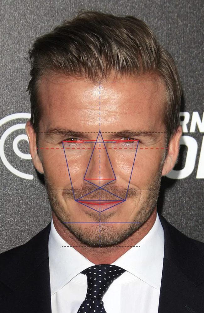 Đẹp trai đến vậy nhưng Beckham không sở hữu mặt hoàn hảo nhất thế giới-10