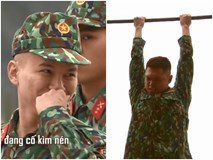 Hoàng Tôn cười nắc nẻ khi Bảo Kun không thể lên nổi xà đơn trong quân ngũ