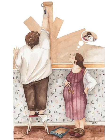 Ngày của Mẹ: Cùng ngắm bộ tranh về những điều thiêng liêng nhất dành cho con nhưng chưa bao giờ mẹ kể-1