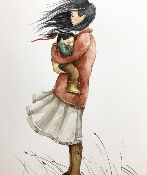 Ngày của Mẹ: Cùng ngắm bộ tranh về những điều thiêng liêng nhất dành cho con nhưng chưa bao giờ mẹ kể-3